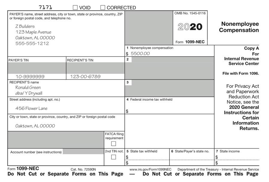 Form 1099-NEC